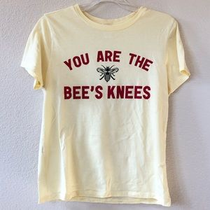 """You are the bees knees"" t-shirt"